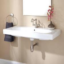 Bathroom Trough Sink Sinks Double Faucet Trough Sink Kohler Wall Mounted Bathroom