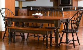 black wood dining room table dining rooms