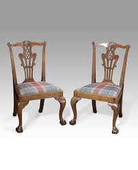 Antique Wooden Armchairs Pair Of Chippendale Chairs Pair Of Antique Dining Chairs Antique