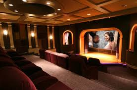 Modern Media Room Ideas - living room theater new living room theaters fau decorations
