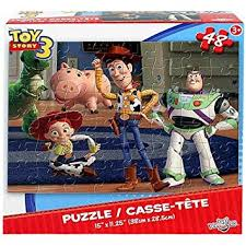 amazon disney pixar toy story 3 48 piece puzzle woody buzz