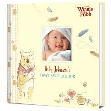 baby record book disney s winnie the pooh baby s personalized record book