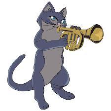 cat trumpet youtube