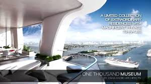 one thousand museum one thousand museum miami with private helipad youtube