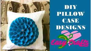 Designer Throw Pillows For Sofa by Super Easy Creative Decorative Pillow Case Designs Youtube