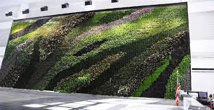 Indoor Garden Wall by Great Green Wall Perspective On Home Facade Decoration Ideas For