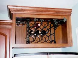 wine rack inserts for cabinets wine rack for kitchen cabinet