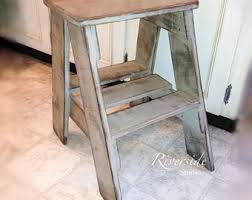 Shabby Chic Stools by Pallet Stool Etsy