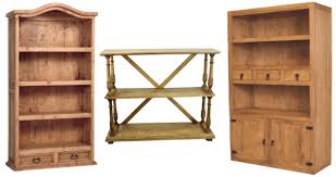 Rustic Wood Bookshelves by Rustic Bookcase Mexican Rustic Furniture And Home Decor Accessories