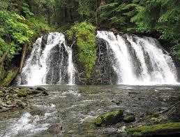 Alaska waterfalls images Go to see alaska part 2 juneau and red salmon jpg