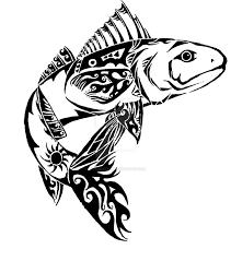 tribal fish idea by polkadotkat on deviantart