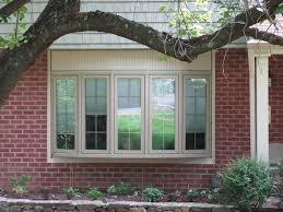 kitchen bay window decorating ideas bay window decorations with calm brown 5 windows bay style outdoor