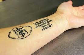 guelph tattoo artist finds market for medicalert tattoos