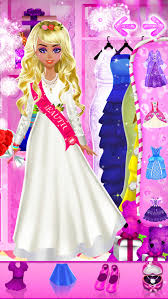 ice queen wedding salon frozen princess spa makeup dress up icy bride makeover