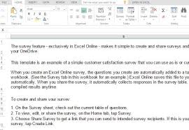 customer satisfaction report template customer satisfaction survey template for excel