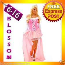 g5 ladies princess aurora sleeping beauty fancy dress halloween