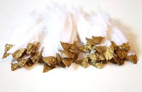 gold dipped gold dipped feathers