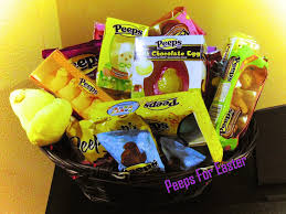 peeps easter basket want a peeps easter basket peeps in a basket momstart