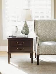 kensington place chandler drawer lamp table lexington home brands