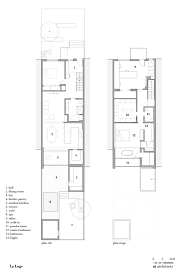 gallery of la loge nathalie thibodeau architecte 15 floor plan