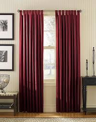 Tab Top Curtains Blackout Sailcloth Cotton Canvas Wide Width Tab Top Panel Curtainworks Com