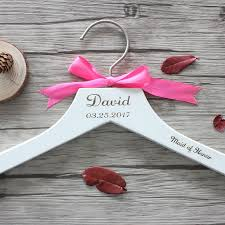 personalized wedding hangers aliexpress buy personalized wedding hanger custom for