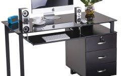Small Corner Desk Homebase Black Glass Computer Desk Homebase Desk Ideas