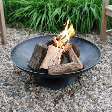 handmade fire pit rustic cast iron braziers round garden fire pits the farthing