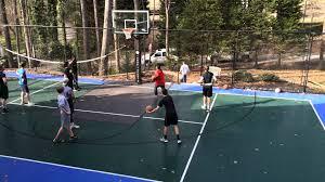photos hgtv backyard basketball court haammss