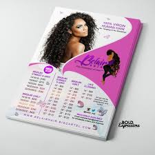 ds hair extensions bold expressions ds on flyer design hairextensions