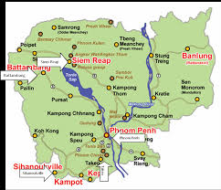 Map Of Cambodia Travel With Nicki And Andre Map Cambodia