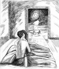 sketch room blue room sketch by littleseasparrow on deviantart