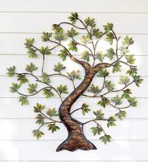 wall designs metal outdoor wall metal twisted tree with