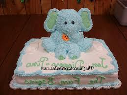 baby elephant baby shower cake baby shower cake decoration