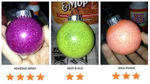 diy best methods for glitter ornaments hey hey k