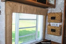 camper window treatments