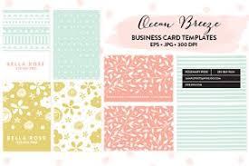 Daniel Ocean Business Card Charming U0026 Creative Business Cards Creative Market Blog