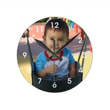 personalized clocks with pictures photo clocks