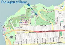 san francisco map painting the legion of honor san francisco tips and photos