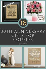 best of 30th wedding anniversary gifts for husband wedding gifts