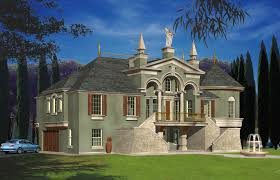 French Luxury Home Architect French Luxury Castle Custom Home Design - Dream home design usa