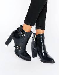 womens boots asos hilfiger tommyxgigi nautical heeled ankle boots asos