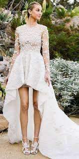 high to low wedding dress types of wedding dresses and exles happywedd