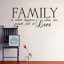 wedding quotes about family two fall family wall decal quote wedding