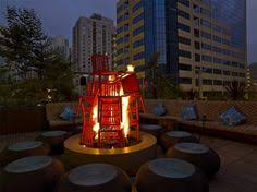Fire Pits San Diego by San Diego At Nighttime The Emerald Shapery Building Looks So