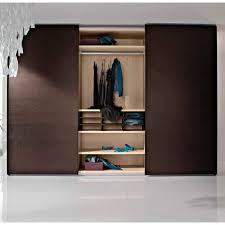 chambre a coucher porte coulissante armoire contemporaine en bois à porte coulissante pour enfant