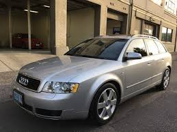2004 audi station wagon audi a4 at 1 8t quattro for sale used cars on buysellsearch
