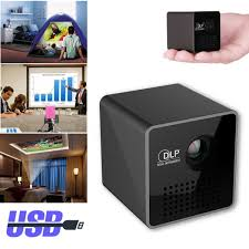 mini home theater led dlp hd 1080p portable mini projector home theater tf