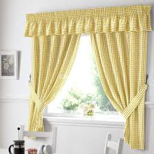 Modern Kitchen Curtains by Kitchen Kitchen Curtains With Brown Curtain And White Wall Design