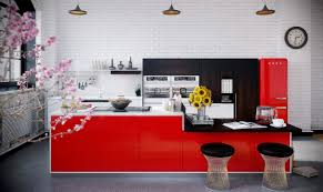 15 red kitchen design ideas u2014 the home design 15 red kitchen